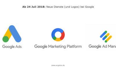 Google AdWords wird zu Google Ads: Was Sie jetzt wissen müssen