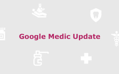 Google Medic Update – Was Sie jetzt wissen müssen