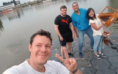 Düsseldorf am Ruder: Unser Team beim Training – Teil 2