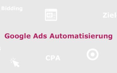 AdWords Gebotsstrategien – Alles über Smart Bidding