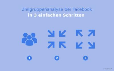 Zielgruppenanalyse bei Facebook in 3 einfachen Schritten