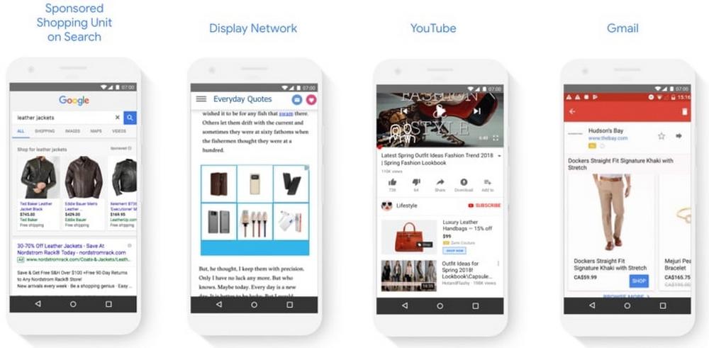 Kanäle Google Smart Shopping Kampagnen