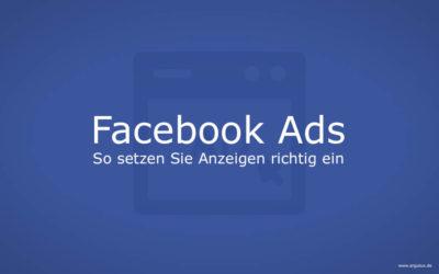 Facebook Ads effektiv und gewinnbringend nutzen – ein kurzer Guide