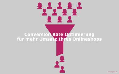 10 Tipps zur Conversion Rate Optimierung für Ihren Onlineshop