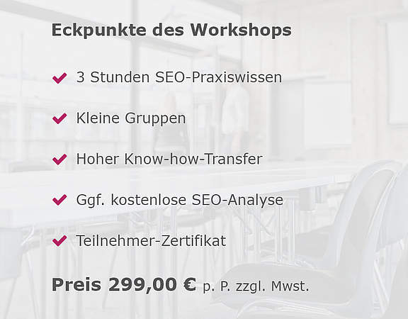 Eckpunkte des Workshops